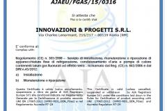 aja-certificato
