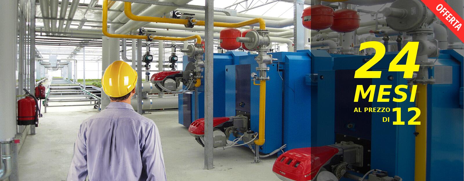 Manutenzione centrale termica roma