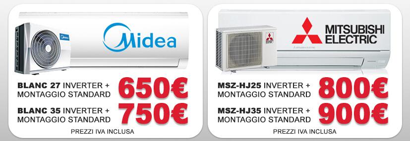 promozione climatizzatori Roma